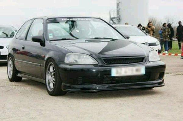 Civic ek k20 230cv Aux runs de Clastres 19/03