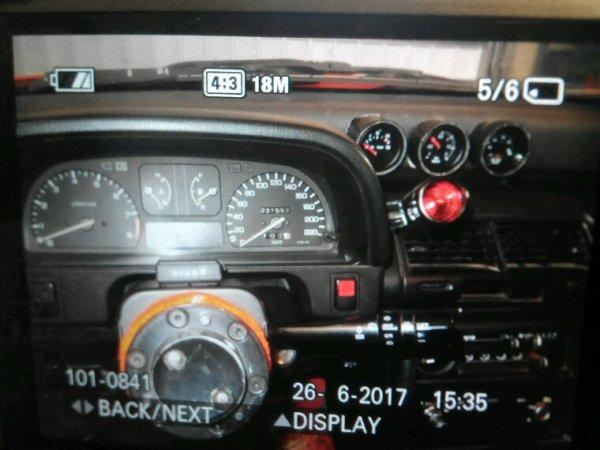Pose d'un détecteur de cliquetis et News mano huile et pression turbo avec support maison