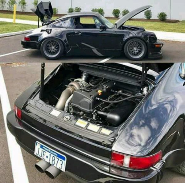 Porsche swap k20 turbo!!!