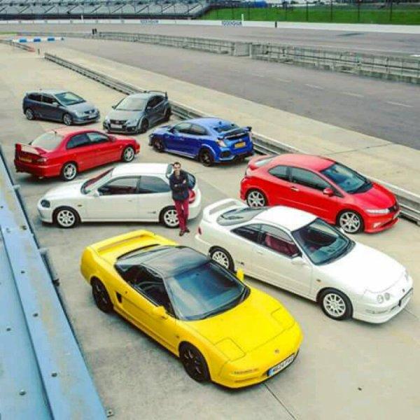 Honda typeR family!!!