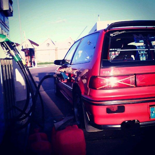 Civic ed7 station e85 ethanol