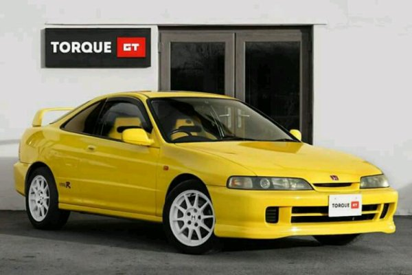 Yellow clean intégra type R
