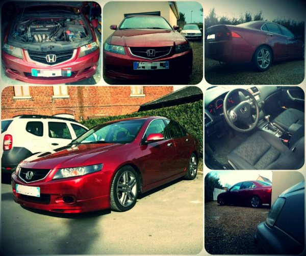 My daily drive...Accord cl7 k20 moteur