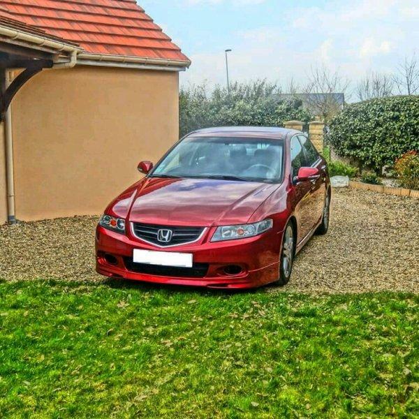 Honda Accord cl7 Royal red Ruby