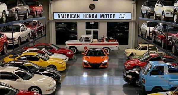 Honda paradise...