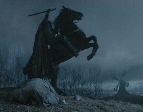 halloween à cheval!