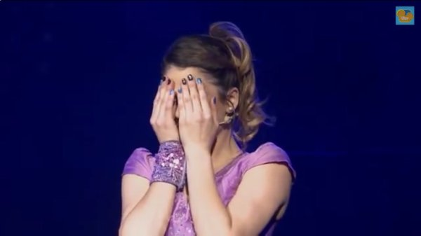 Violetta en Vivo.... Love you Tini