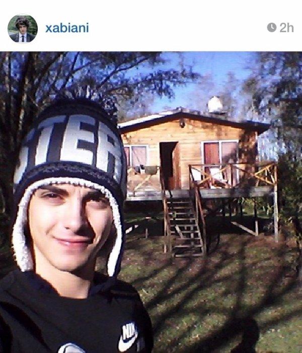 Xabiani (avec Mechi)et Damien ont poster ces photos: