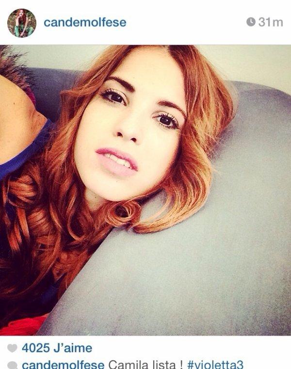 Les News photos Instagram.. Je trouve qu'elle est trop belle la petite amie de Nicolas (Andres(photo2) *-* et toi?