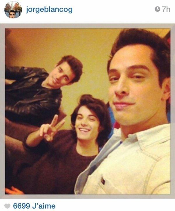Une nouvelle photo sur le compte de Jorge *-* il est magnfique Xabiiiiiiii #Xabinistas :P