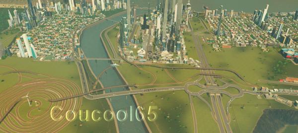 CITIES SKYLINES - Le nouveau Grand Tarbes