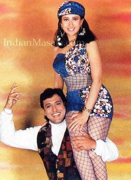 govinda et Karisma Kapoor