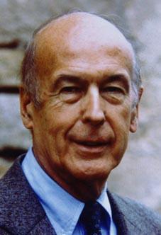 VALERY GISCARD D'ESTAING  ( 20e président )