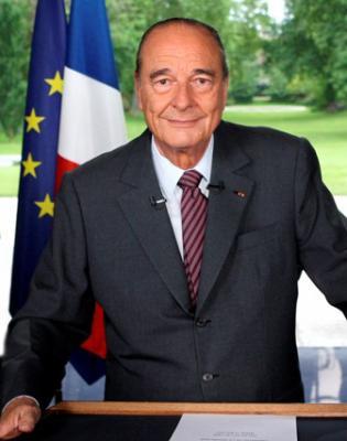 JACQUES CHIRAC  ( 22e président )