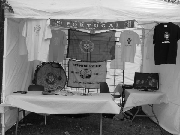 Notre Stand à la Festa D'aubergenville