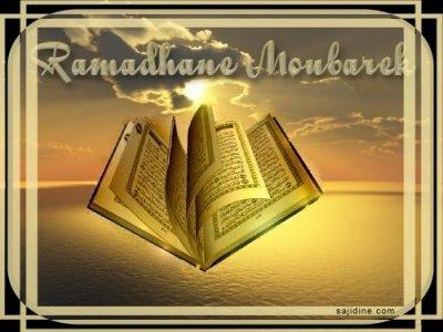 Ramadan mabrouk