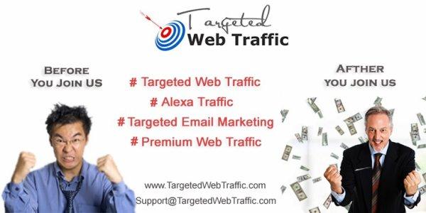 Targeted Web Traffic - TargetedWebTraffic.com
