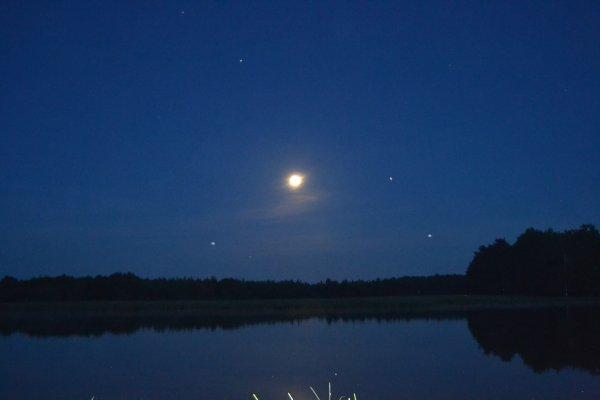 superbe clair de lune
