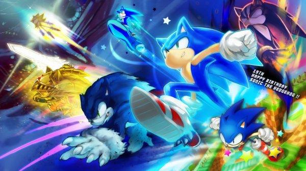 Joyeux anniversaire,Sonic.