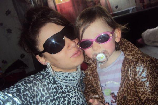 Ma fille et moi en mode delire