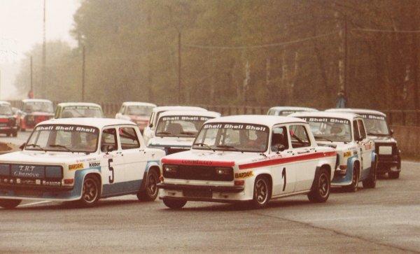srt cormeilles * circuit de montlhery 1980  William Reiber Michel Leporati au départ cette année la Gilbert Cheutin comme coéquipier