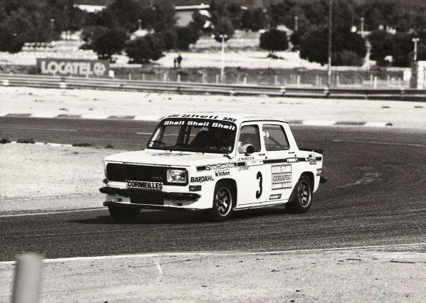 srt cormeilles * circuit du castellet 1978 la courbe de Signes se prenait en rallye3 à près de 190 kmh  sans lever,sans freiner,............ gros coeur