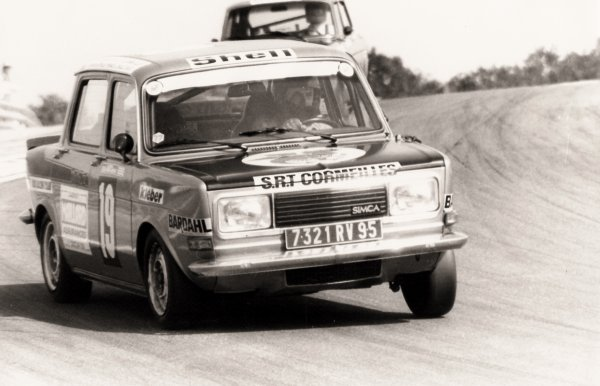 srt dijon ancien srt cormeilles * circuit de dijon prenois William Reiber 1977 la 1ère rallye2 des 24 heures Michel Leporati & Pierre De Manassein les pilotes
