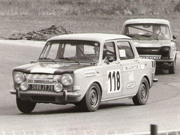srt cormeilles * mes débuts au Simca Racing Team 1973 à Magny Cours