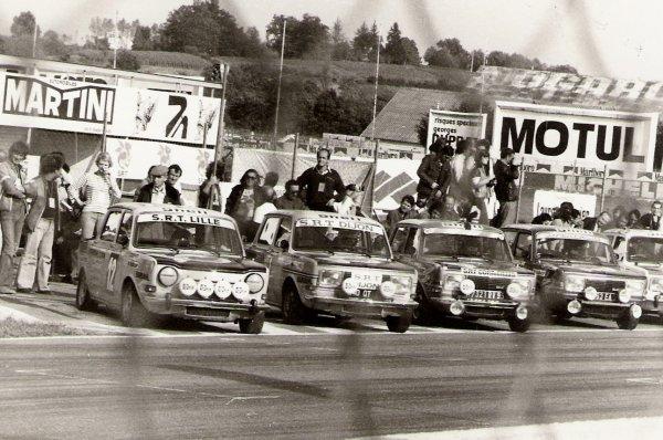 srt cormeilles * circuit de nogaro 1977 grille de départ style le mans * Lille * Dijon * Cormeilles * Villemonble * Pau *