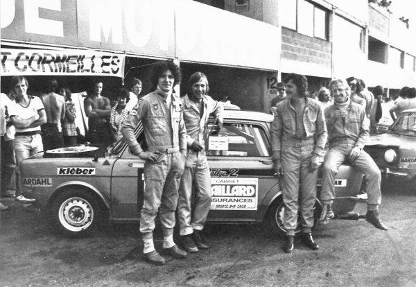 srt cormeilles nogaro 1977 *  4 Pilotes *  2 voitures pour 24heures