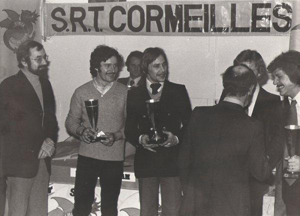 srt cormeilles * remise des trophées * par x. Chollet notre super et bien aimé garagiste à G.Le tily * P.Beaujard * P.de Mannassein * M.Leporati