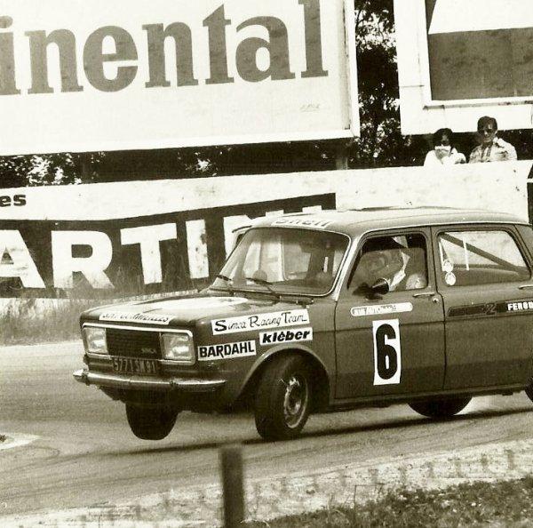 srt cormeilles * Mic travers avec la Rallye2 rouge de mon ami Jacky Geran à Magny Cours en 1979 (Photo Laurent Philbert)