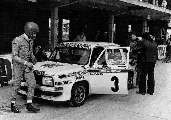 srt cormeilles * circuit de Montlhéry 1978 challenge William Reiber l'équipage de Cormeilles *
