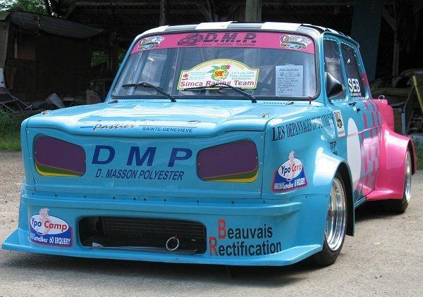srt cormeilles * Simca Racing Team c'est écrit dessus juste pour cette superbe Rallye2 gr F