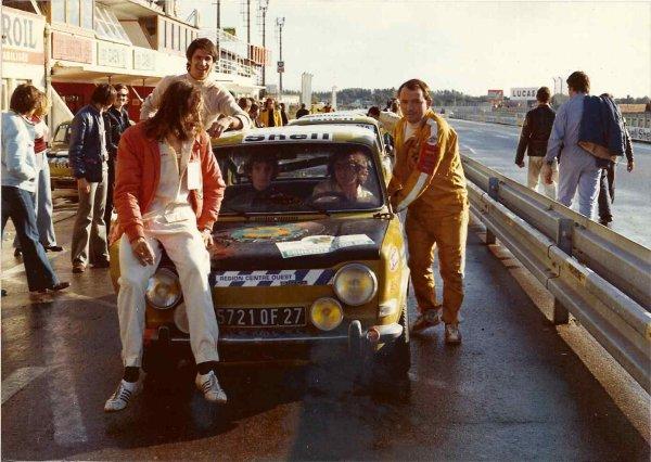 srt cormeilles * srt  Dreux * les débuts du srt photo d'ambiance d'une course au Bugatti du trophée William Reiber 1973