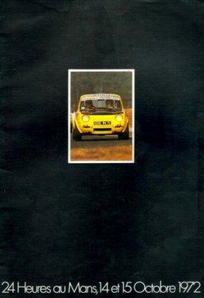 srt cormeilles * Revue éditée par le Simca Racing Team pour les 24h du Mans 1972