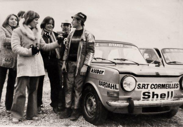 srt cormeilles * on a revu William Papin l'ancien Champion de France Trophée Kleber des Circuits 1977