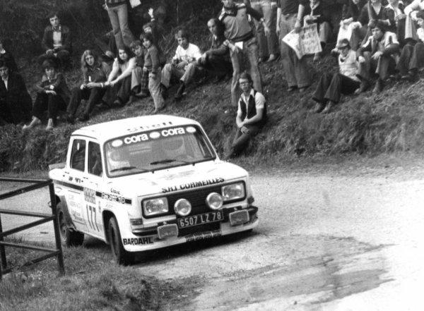 srt cormeilles et srt Dijon * Simca Rallye3 pilote Gilbert Cheutin et Claude Faivre à la Ronde  Luronne 1978