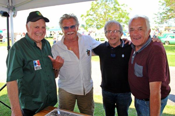 SRT Cormeilles SRT Dijon SRT Chenôve les anciens pilotes se sont retrouvés pour les 40 ans de la Rallye3 à Flagey-Echézeaux 2018
