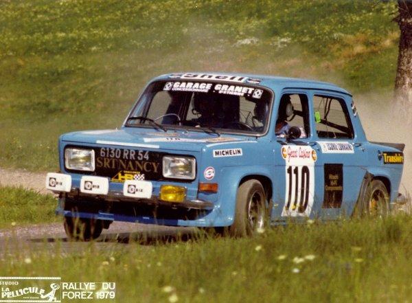 SRT Cormeilles * SRT Nancy Simca Rallye3 pilote