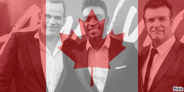les 3 canadiens !