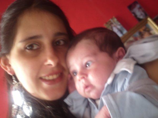 mon fils lorenzo et moi