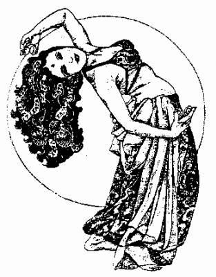 La danse orientale le blog oriental - Danseuse orientale dessin ...