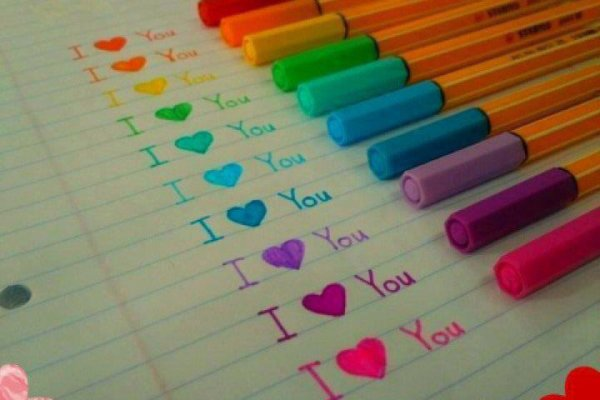 I <3You like all colors