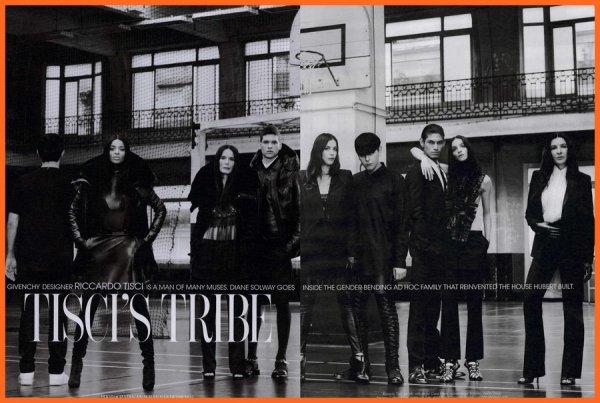 Tisci's Tribe & Tweet