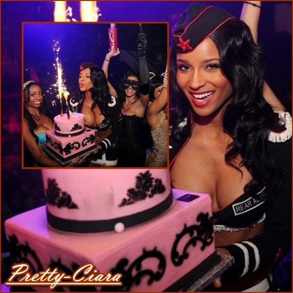 >Hier Cici's B'Day party au club LIV   (Et oui, une star célèbre son anniverssaire plus d'une fois lol !  ;) )