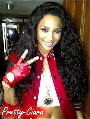 "Ciara on the set of ""My Girl"""
