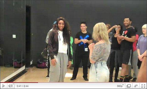 """>La semaine dernière  Cici rend visite à un groupe de danse """"iDejANCE"""""""