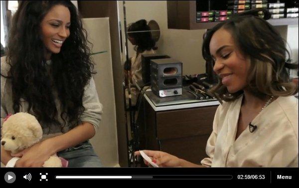 Une vidéo de la rencontre entre Cici et Dominique, la FAN qui a gagner le concourt organisé pas MySpace viens d'arriver sur le net !