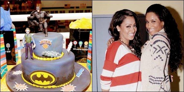 >Vendredi 11 Mars  Ciara au 4ème anniversaire de Kiyan, le fils de Lala